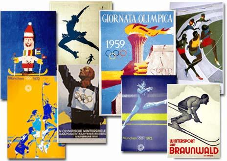 Original sport posters